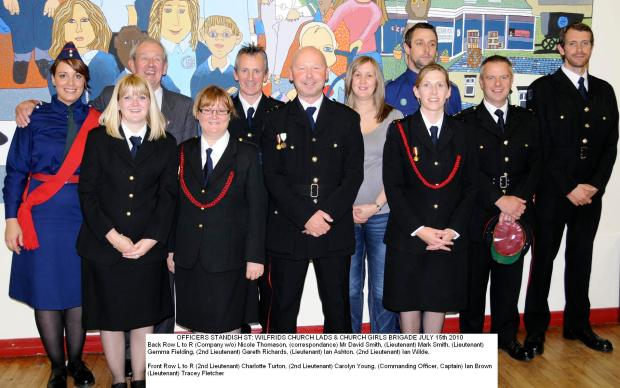 Picture of Standish Officers at 2010 Awards night