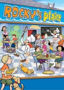 Rocky's Plaice poster