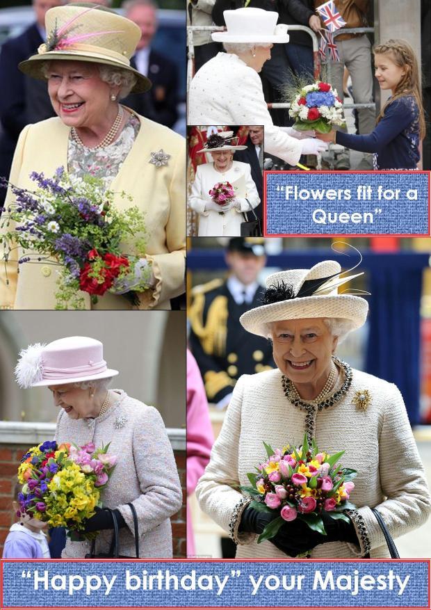 Elizabeth & flower bunches jpeg